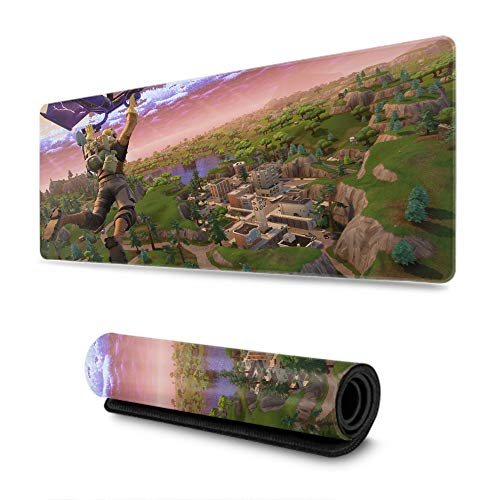 PC Mouse Pad Large Mouse Pad,Battle Royale Characters Gaming Gamer, Fashion Creative (29.5×15.7 Inch) (The Best Rap Battle Ever)