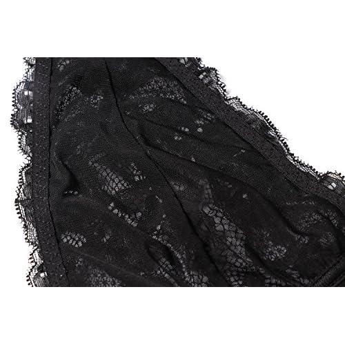 8a6e94cb56f3af BellisMira Women s Scalloped Lace Halter Bralette with Adjustable Bra Clasp  high-quality