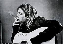 GB Eye Kurt Cobain Smoking Poster