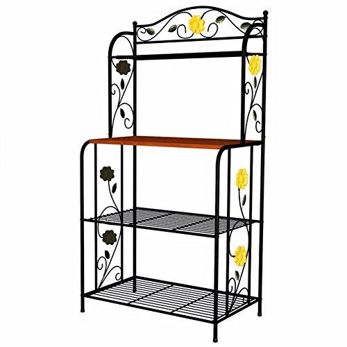 26 off okeler 3 tier microwave cart shelving rack made. Black Bedroom Furniture Sets. Home Design Ideas