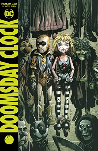 Doomsday Clock (2017) #6 of 12 VF/NM Gary Frank Cover
