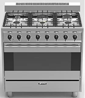 ft gas range color stainless steel