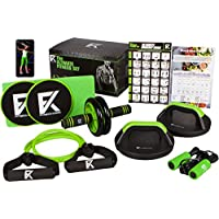 The Ultimate Fitness Set - 5 in 1 Ab Roller Wheel,...