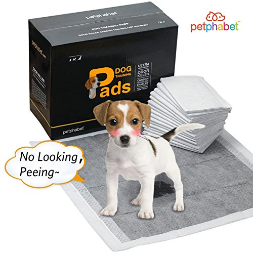 Dog Pads Super Absorbent Bamboo Charcoal Puppy Training Pads 100 Counts (56...