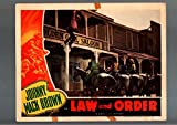 MOVIE POSTER: LAW AND ORDER-JOHNNY MACK