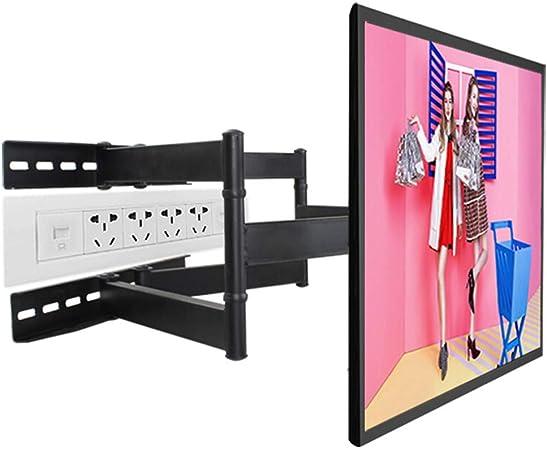 Xinjin Estante para TV, Soporte Giratorio telescópico para TV LCD, Soporte Giratorio multifunción, Pantalla Grande, Distancia Entre Agujeros, Longitud del Brazo 70 cm: Amazon.es: Hogar