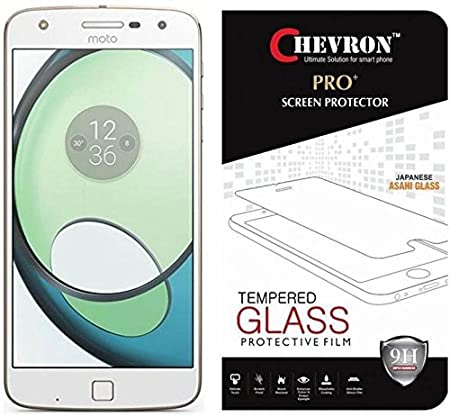 Chevron Tempered Glass Screen Protector for Moto Z Play  Motorola Z Play  Screen guards