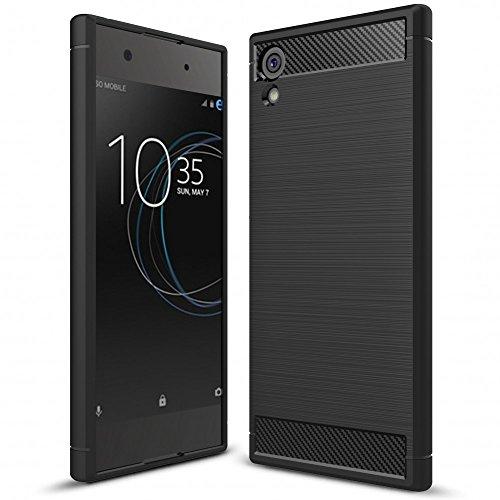 Sony Xperia XA1 Silicone Case by NALIA, Ultra-Thin Protective Phone Cover Rubber-Case...