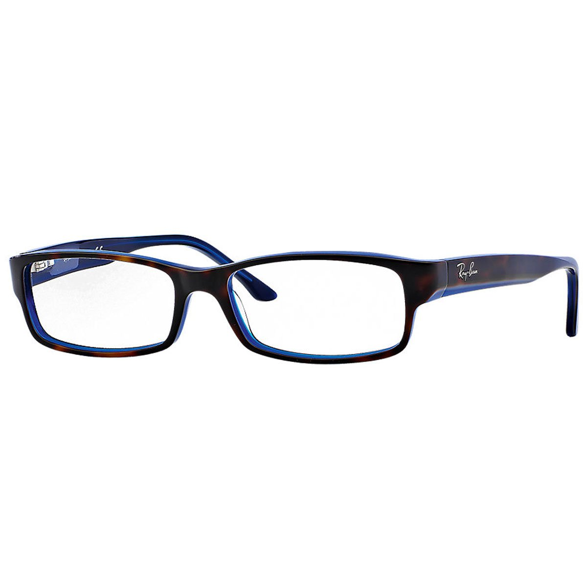 Amazon.com: Ray-Ban RX5114 Eyeglasses Top Havana On Blue 52mm: Shoes