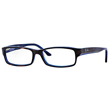 8bddfb78b02 Amazon.com  Ray-Ban 0rx5114 No Polarization Rectangular Prescription Eyewear  Frame