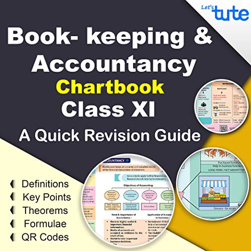 LetsTute Book-Keeping & Accountancy Chart Book Class 11 Topicwise Chapterwise - Accounts Summary Formula Revision Textbook - Ideal Gift For Students – In English