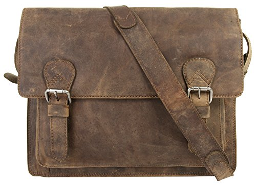 Harold's Antic 13'' Laptop-Messenger Bag nature