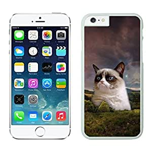 NEW DIY Unique Designed Case For iphone 6 plus Grumpy Cat iphone 6 plus White 5.5 TPU inch Phone Case 178