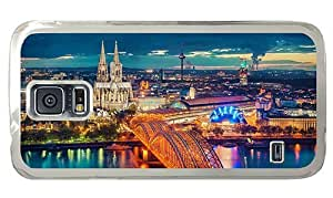 Hipster Samsung Galaxy S5 Case customize cologne germany hd PC Transparent for Samsung S5