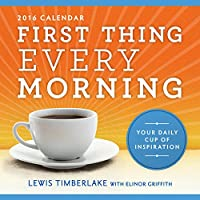 2016 First Thing Every Morning Boxed Calendar: Your Daily Cup of Inspiration
