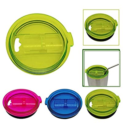 Morecome Spill And Splash Resistant Lid With Slider Closure For 20 Oz