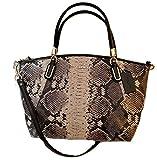Coach Python Small Kelsey Crossbody Handbag