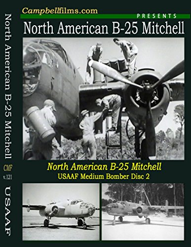 B-25 Mitchell Bomber WW2 Old Films Pacific War