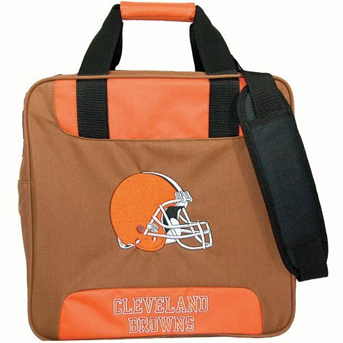 KR NFL Single Tote Cleveland Browns Bowling Bag