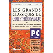Grands classiques chimie/thermo PC