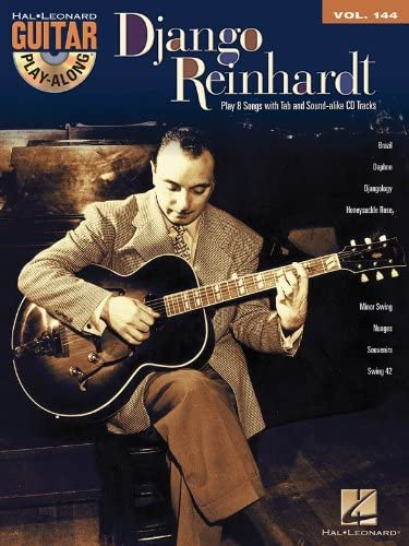 Hal Leonard Corporation - Guitar Play-Along Volume 144 :django Reinhardtpartitions, Accords, Cd D'Apprentissage