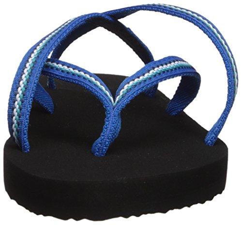Teva Womens Olowahu Flip-flop Lindi Blu