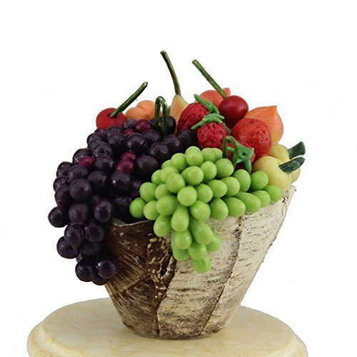 Generic Flower/fruits Basket for 1/12 Scale Dollhouse Furniture