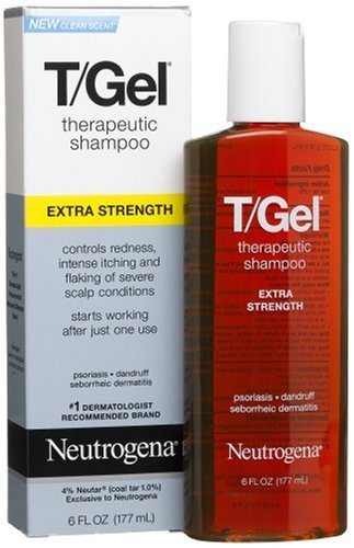 Neutrogena T-Gel Shampooing thérapeutique, Extra Strength, 6 onces