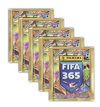 10 Tüten 1 Album Panini FIFA 365-2018//2019 Deutsch Sammelsticker