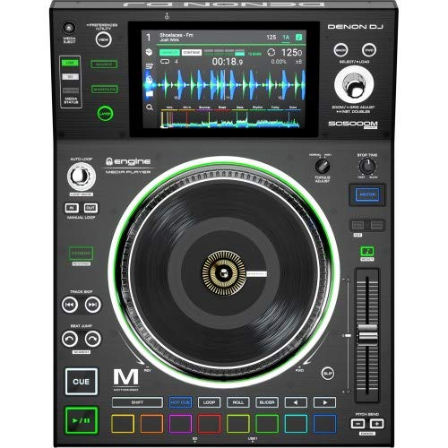 "Cheap Denon DJ SC5000M | Professional DJ Media Player with Motorised Platter, 7"" Multi-Touch Displ..."