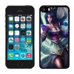XiFu*MeiBeautiful Custom Designed Cover Case For iphone 4/4s With League Of Legends Ahri Phone CaseXiFu*Mei