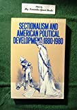 img - for Sectionalism and American Political Development, 1880-1980 by Richard Franklin Bensel (1987-11-03) book / textbook / text book