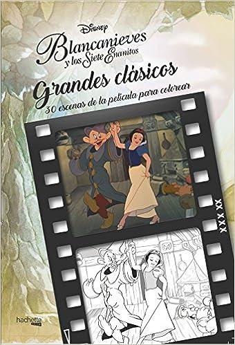 Grandes Clásicos Disney Para Colorear Blancanieves Y Los Siete