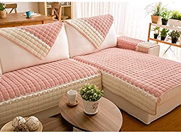 Surprising Buy Pinkdose Pink Sofa Cover 110X160Cm Plaid Sofa Pabps2019 Chair Design Images Pabps2019Com