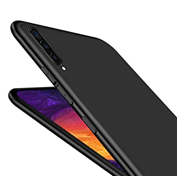 LAYJOY Funda Samsung Galaxy A50 / A50S / A30S, Silicona Negro Suave Carcasa Ligera Gel TPU Bumper Case de Protectora [Antideslizante] [Anti-Golpes] ...