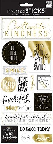 - me & my BIG ideas But First Coffee Sticker
