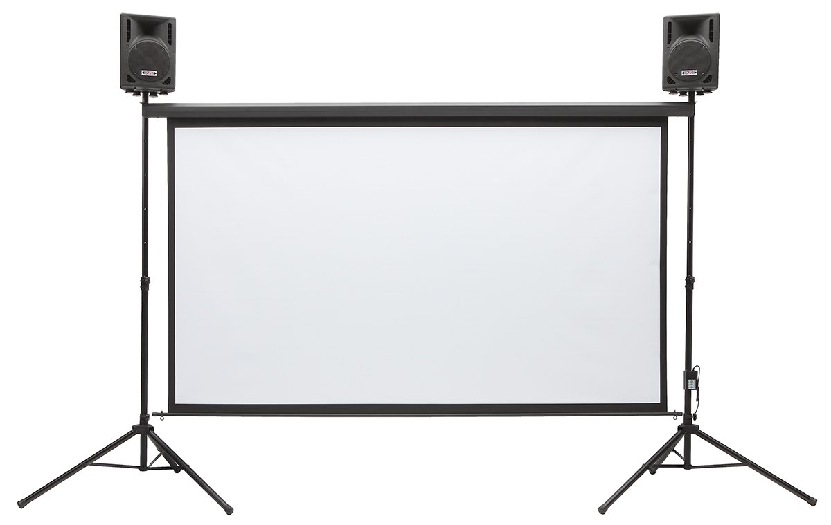 Amazon.com: Silver Screen Series | Outdoor/Indoor Projector ...