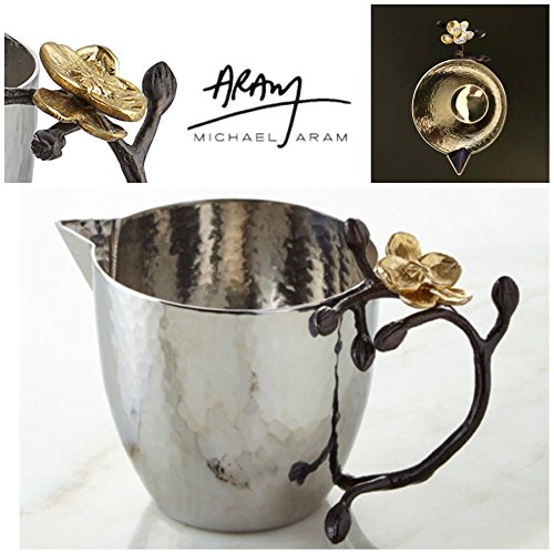 (Michael Aram gold orchid mini pitcher creamer)
