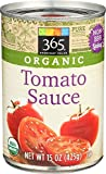 365 Everyday Value, Organic Tomato Sauce, 15 oz