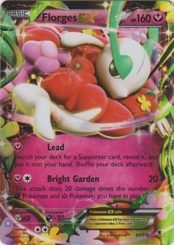 Carte Pokemon FLORGES 67//119 Holo EX Française NEUVE