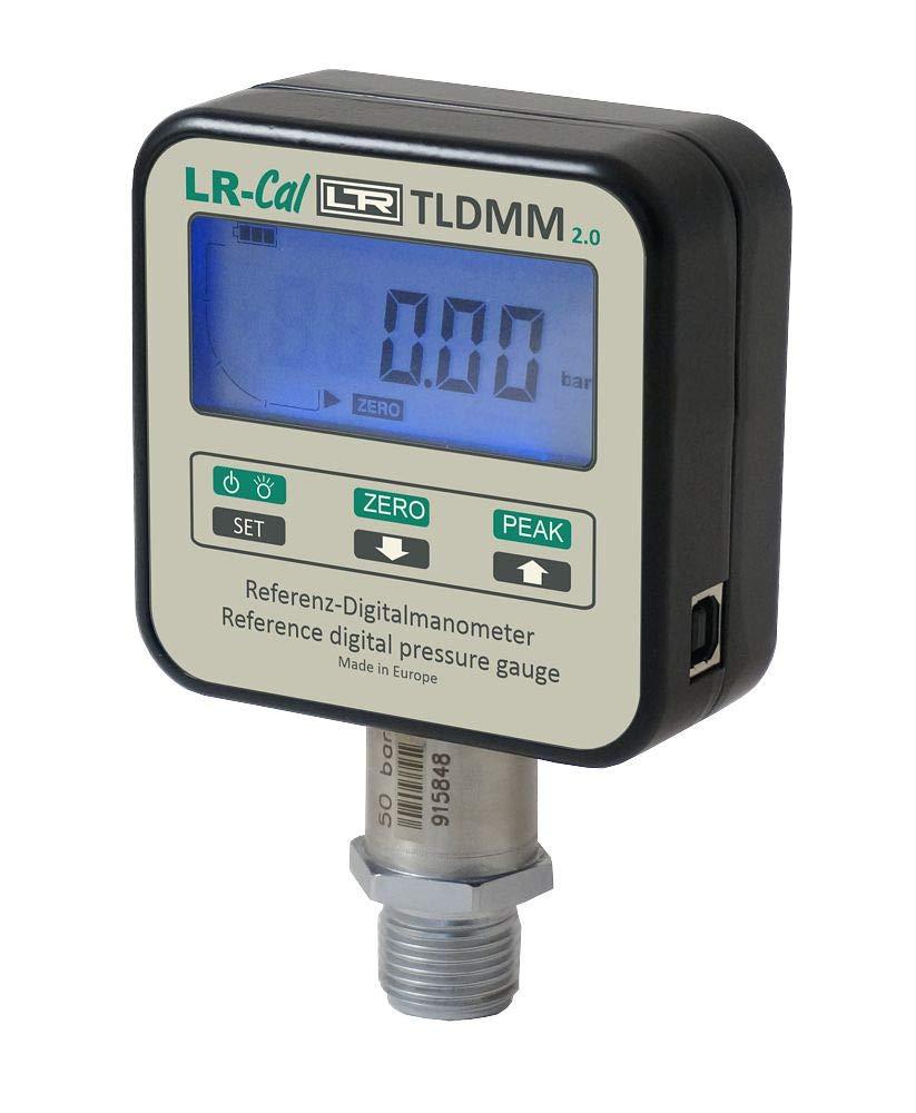 LR-Cal LPP-Kit-HD-10 Hydraulic Pressure Calibration Kit /±0.1/% Accuracy 14500 PSI 0-1000 bar