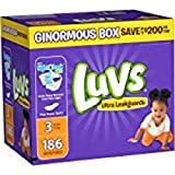 Health & Personal Care : Luvs Diapers sz 3, 180 ct
