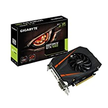Gigabyte GeForce GTX 1060 Mini ITX OC 3GB GDDR5 Graphics Card (GV-N1060IXOC-3GD)