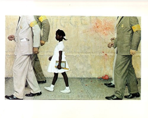 Norman Rockwell The Problem We All Live With 1964 Art Print