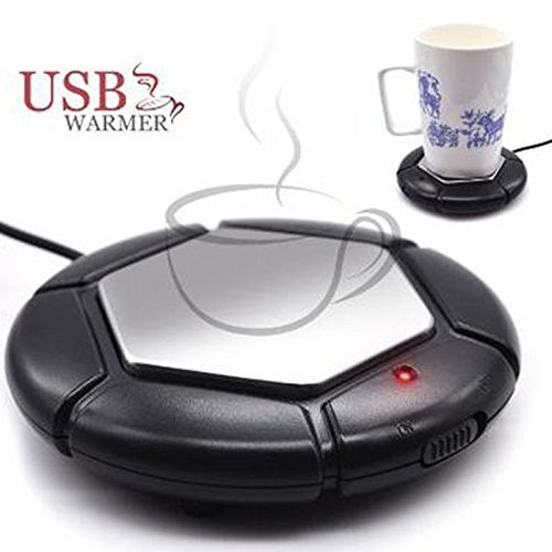 5V ABS + Stainless steel USB Warmer Heat Insulation Plate Milk Tea Coffee Mug Hot Drinks Beverage - Ar Little Outlets In Rock