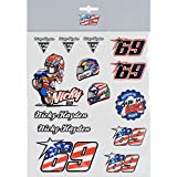 Nicky Hayden 69 Moto GP Sticker Set Official 2018