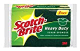 Scotch-Brite Heavy Duty Scrub Sponge, 3-Sponges/Pk, 8-Packs (24 Sponges Total)