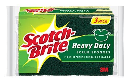 Scotch Brite Heavy Scrub Sponge 3 Sponges product image