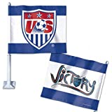 USA United States Soccer Wincraft Red White Blue Victory Car Banner Flag