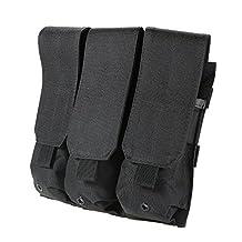 Docooler Tactical Pistol Molle Triple Mag Pouch Bag Magzine Holder